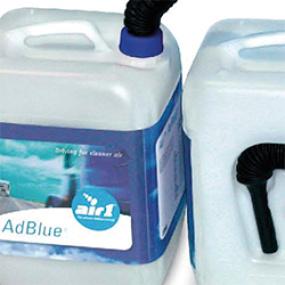 Käyttöauton tarjoukset kuorma-autoihin: AdBlue-lisäaine