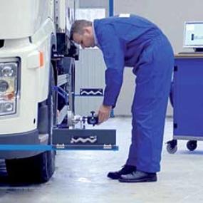 Käyttöauton tarjoukset kuorma-autoihin: Akseliston suuntauksen tarkistus