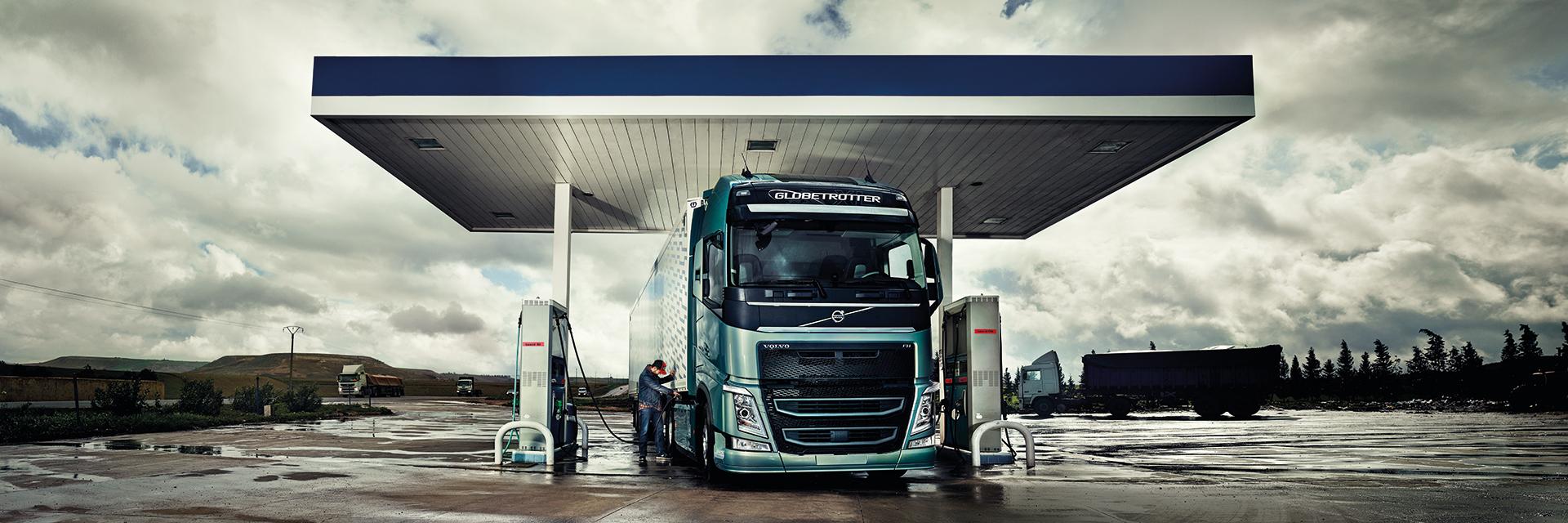 Käyttöauto Volvo kuorma-auto
