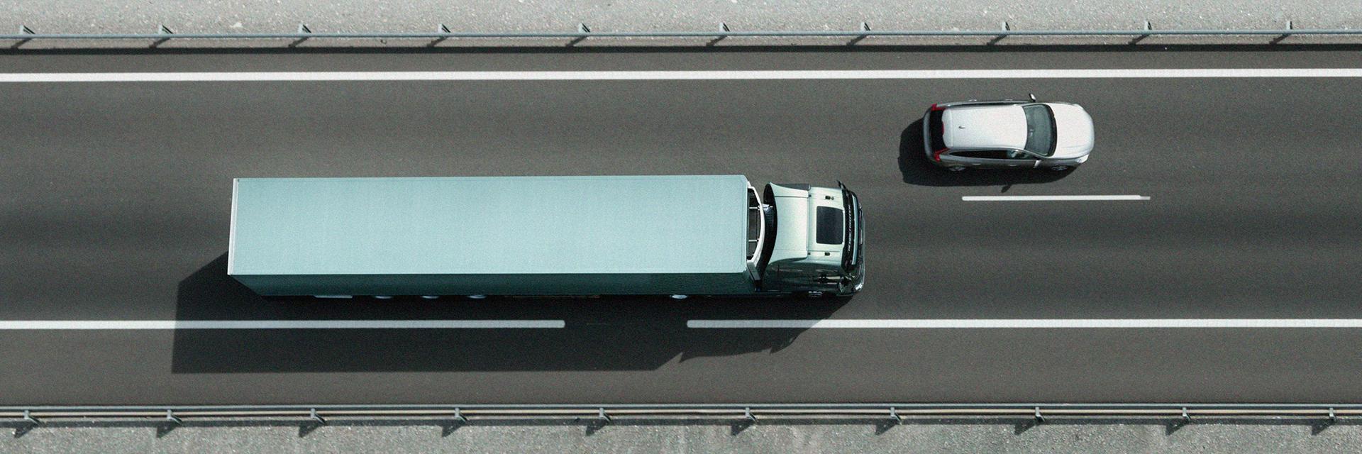 Kuorma-autojen huoltopalvelut Käyttöautossa.