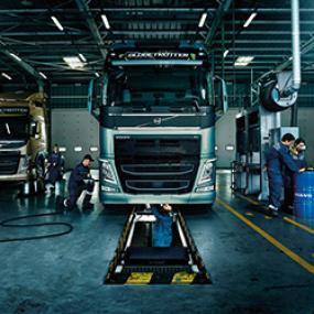 Kuorma-autojen Volvo Huolto
