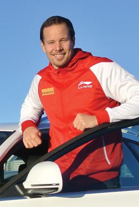 Tero Pitkämäki kör Käyttöautos Audi-kombi