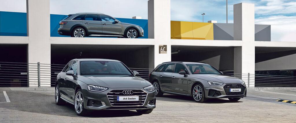 Uusi Audi A4 Business Comfort Edition -mallisto