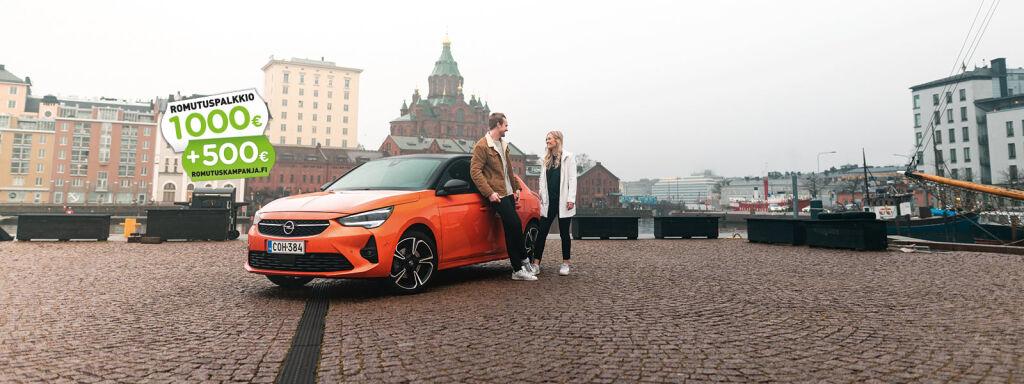 Täysin uusi Opel Corsa