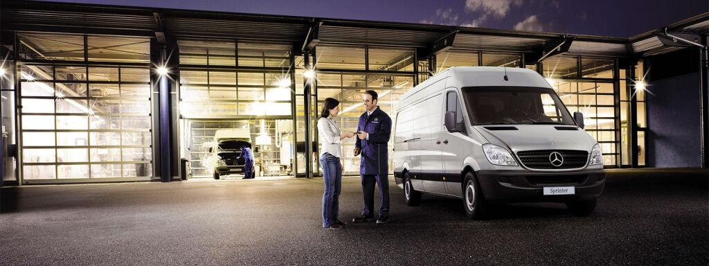Mercedes-Benz ECO-service för skåpbilar