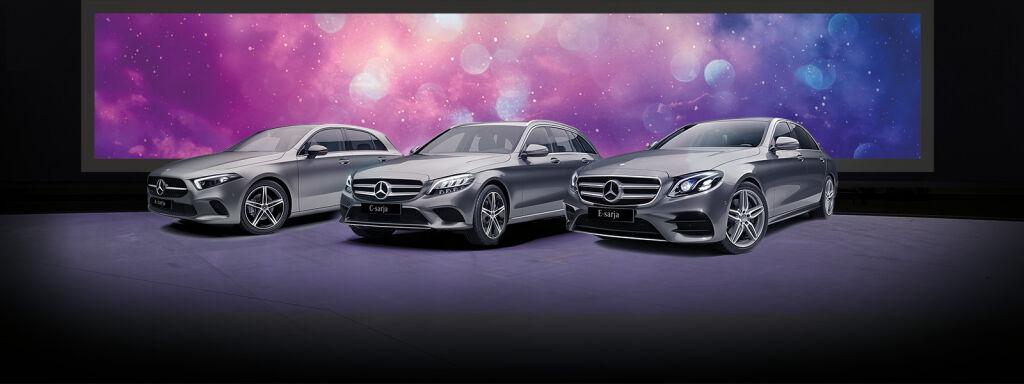 Mercedes-Benz-malleja nopeaan toimitukseen