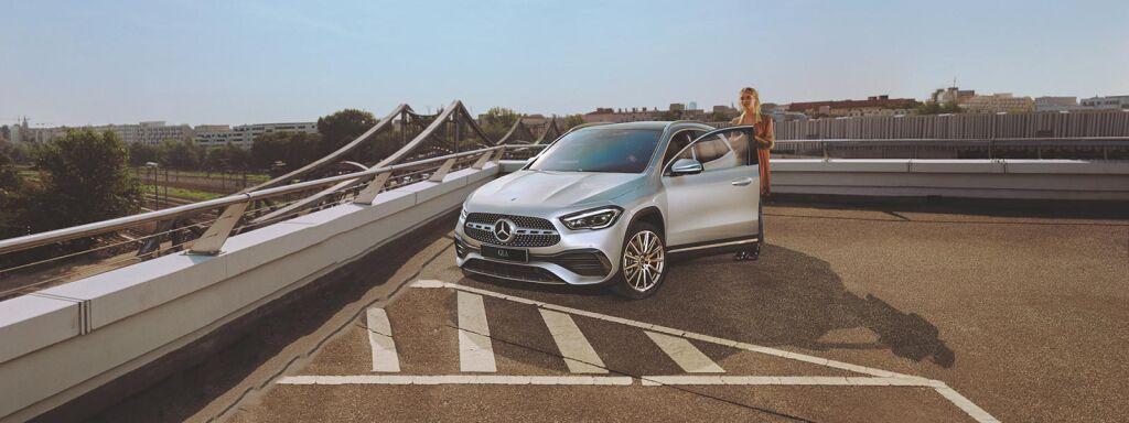 Nya Mercedes-Benz GLA