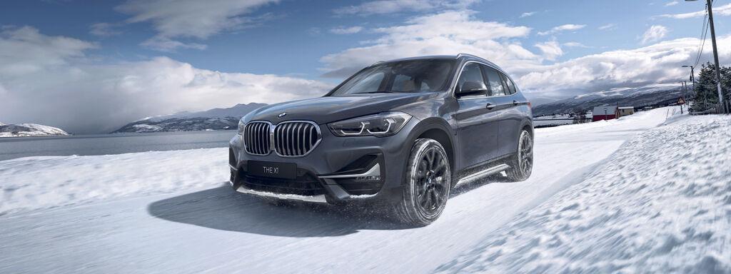 Sähköistetty BMW X1 xDrive-nelivedolla