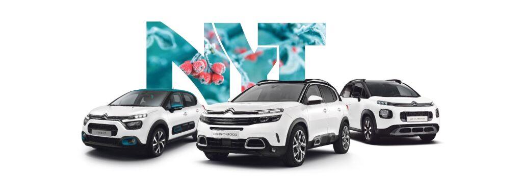 Huoleton kampanja koko Citroën-mallistoon