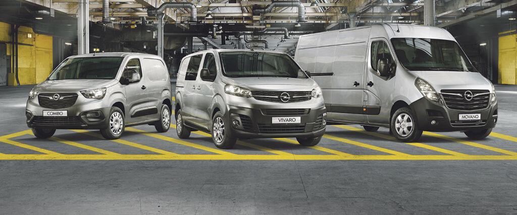 Opel tavara-autot