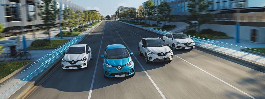 Elektronisk Renault-modeller