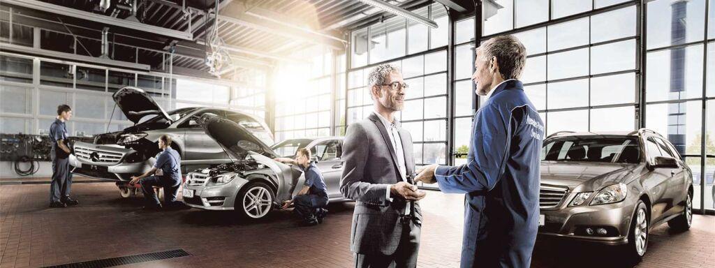 ECO-service – då har du alltid en äkta Mercedes-Benz