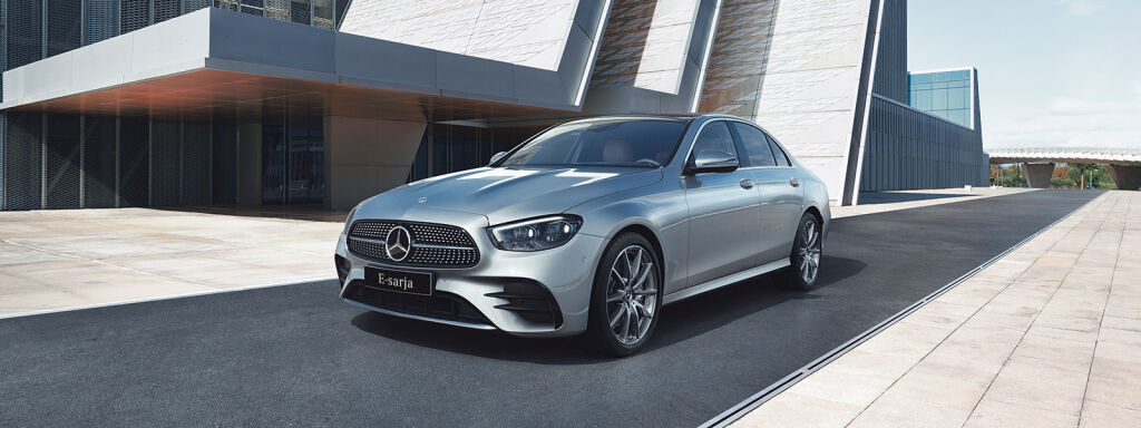 Nya Mercedes-Benz E-klass