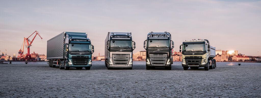 Uusi Volvo Trucks -mallisto