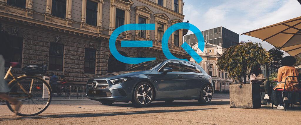 Uusi Mercedes-Benz A-sarja EQ Power