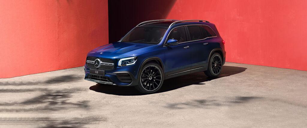 Uusi Mercedes-Benz GLB