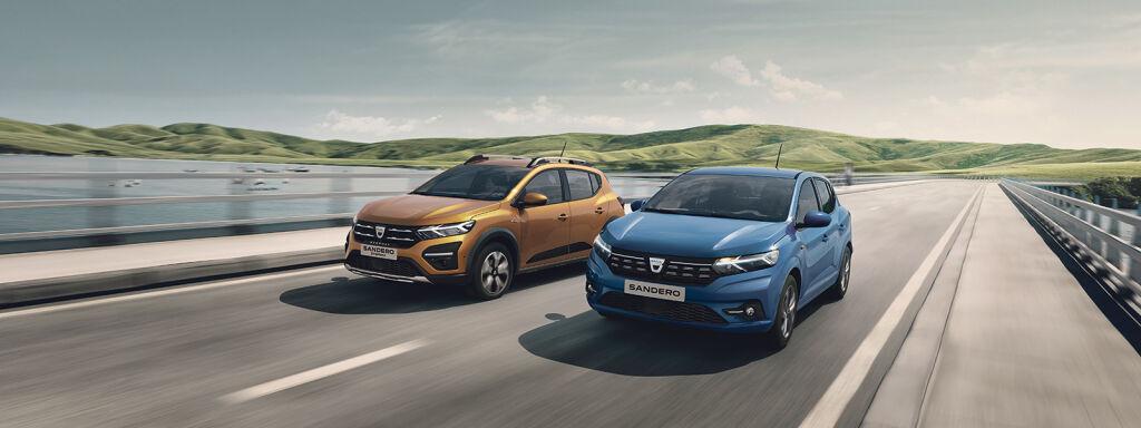 Nya Dacia Sandero och Sandero Stepway