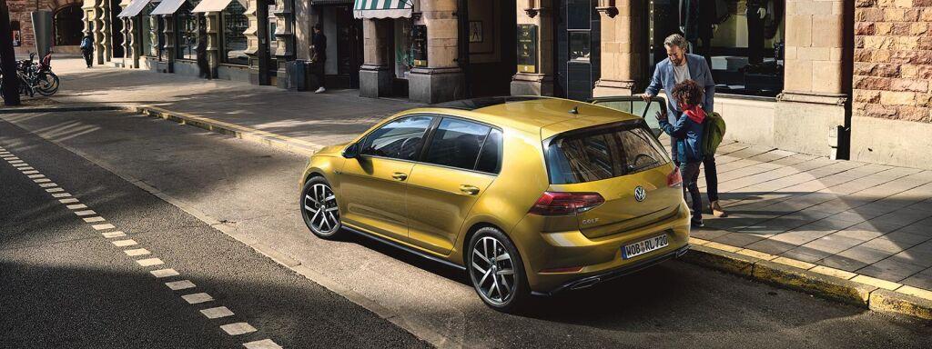 Volkswagen Golf TGI -kaasumallisto