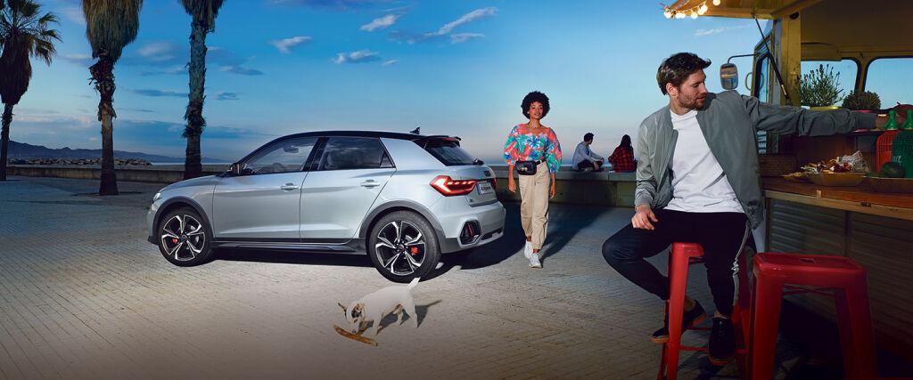 Uusi Audi A1 citycarver