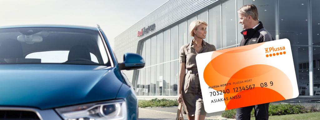 Plussa-pisteitä Audi-huollosta