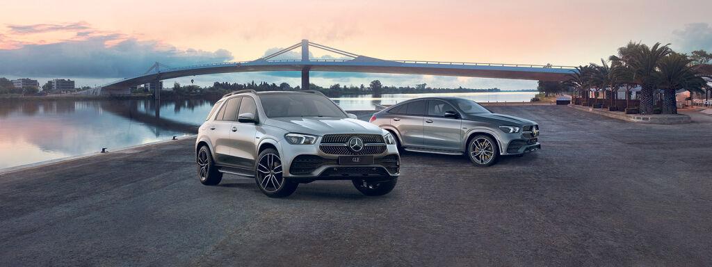 Mercedes-Benz GLE ladattava hybridi