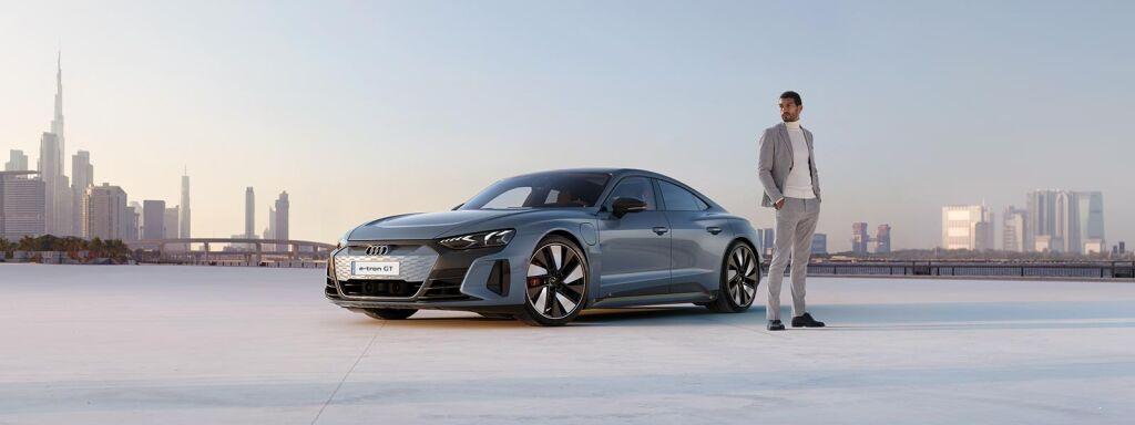 Uusi täyssähköinen Audi e-tron GT quattro