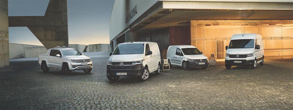 Volkswagen-hyötyautoja nopeaan toimitukseen