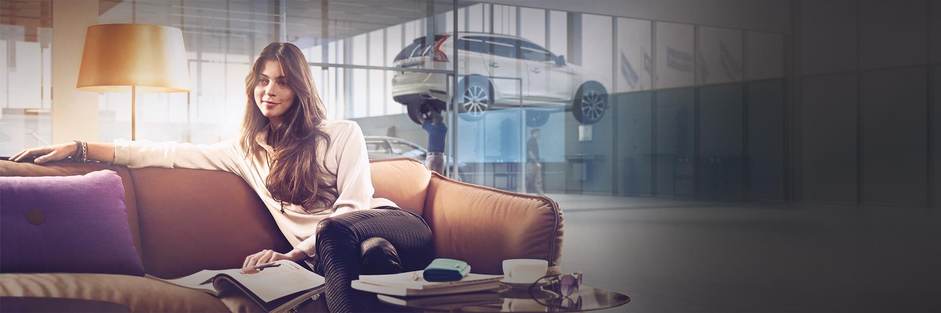 Volvo-merkkihuolto Käyttöautossa