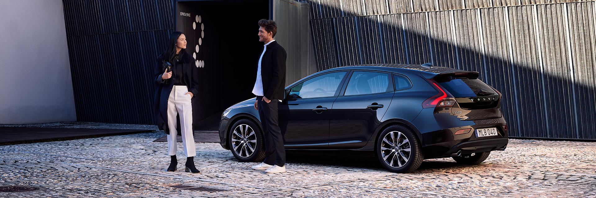 Kuvassa Volvo V40 Dynamic Edition