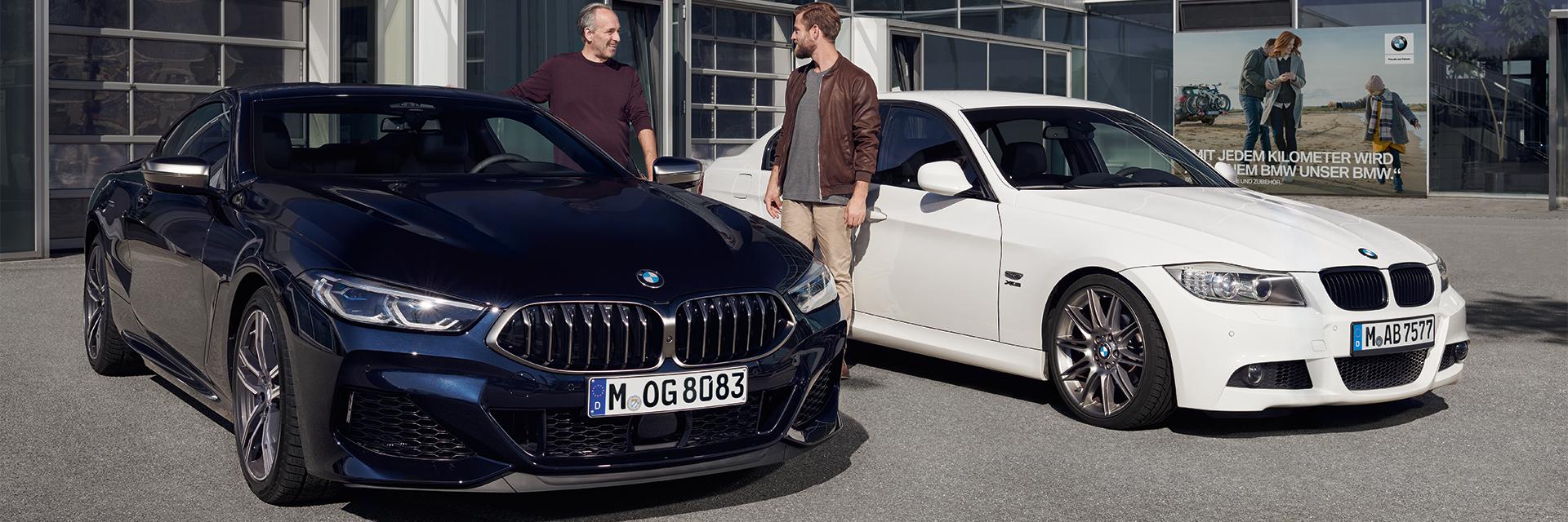 BMW-merkkihuolto Käyttöautossa