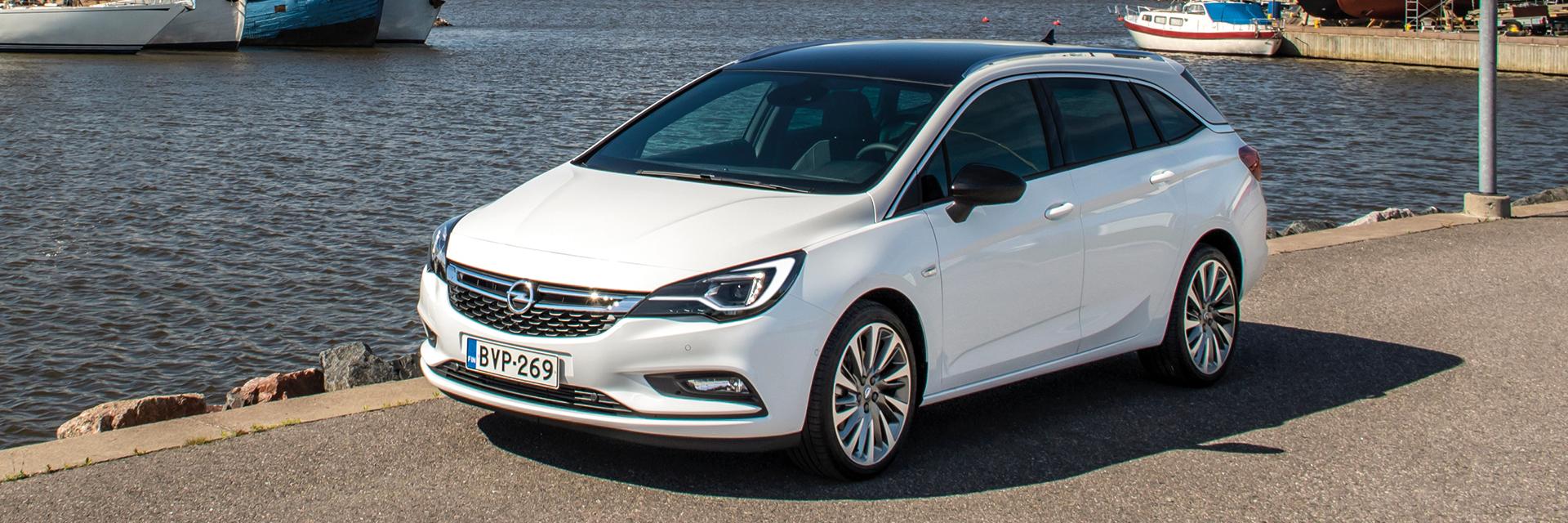 Uusi Opel Astra