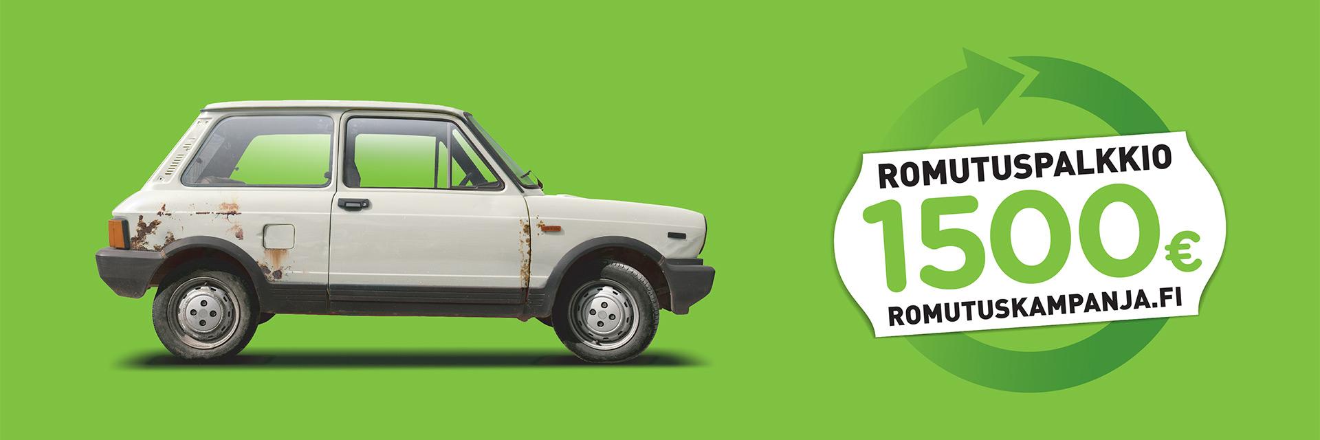 Romutuspalkkiokampanja Käyttöautossa