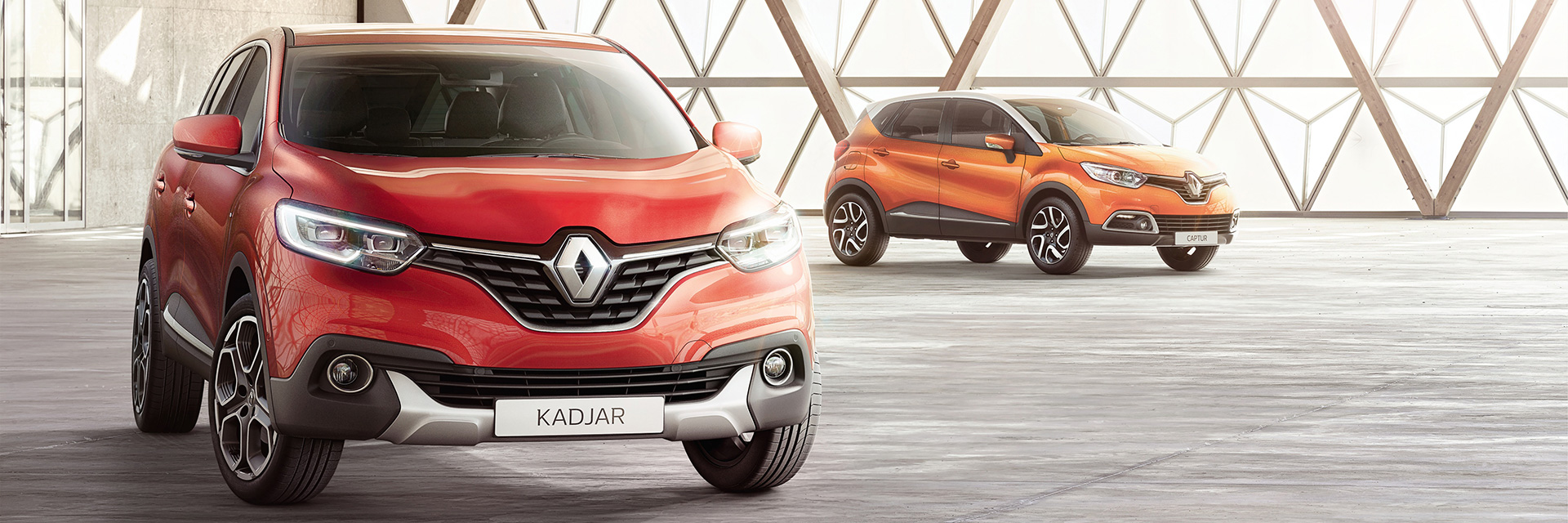 Renault Kadjar ja Captur