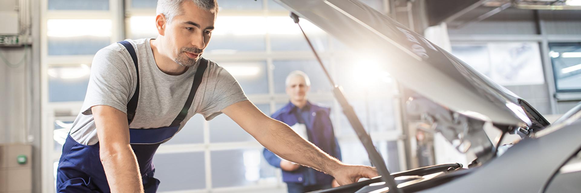 Mercedes-Benz-merkkihuolto Käyttöautossa