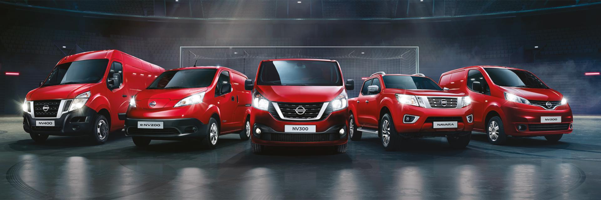 Nissan hyötyajoneuvot