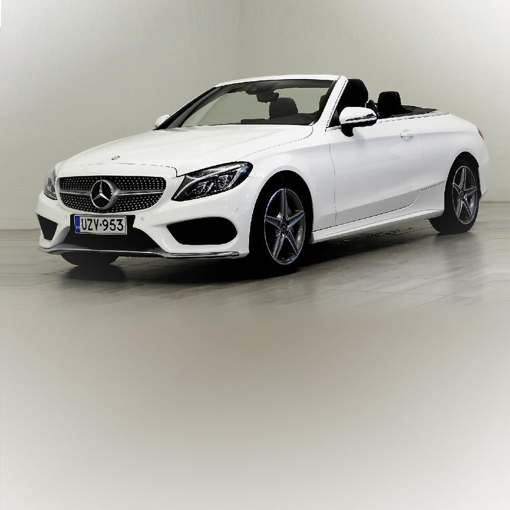 """Mercedes-Benz C 200 CABRIOLET A AMG """"SUOMI-AUTO!"""" UZV-953 1"""