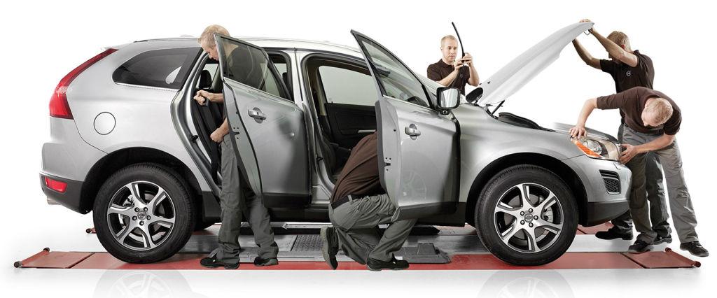 Volvo -service- erbjudanden