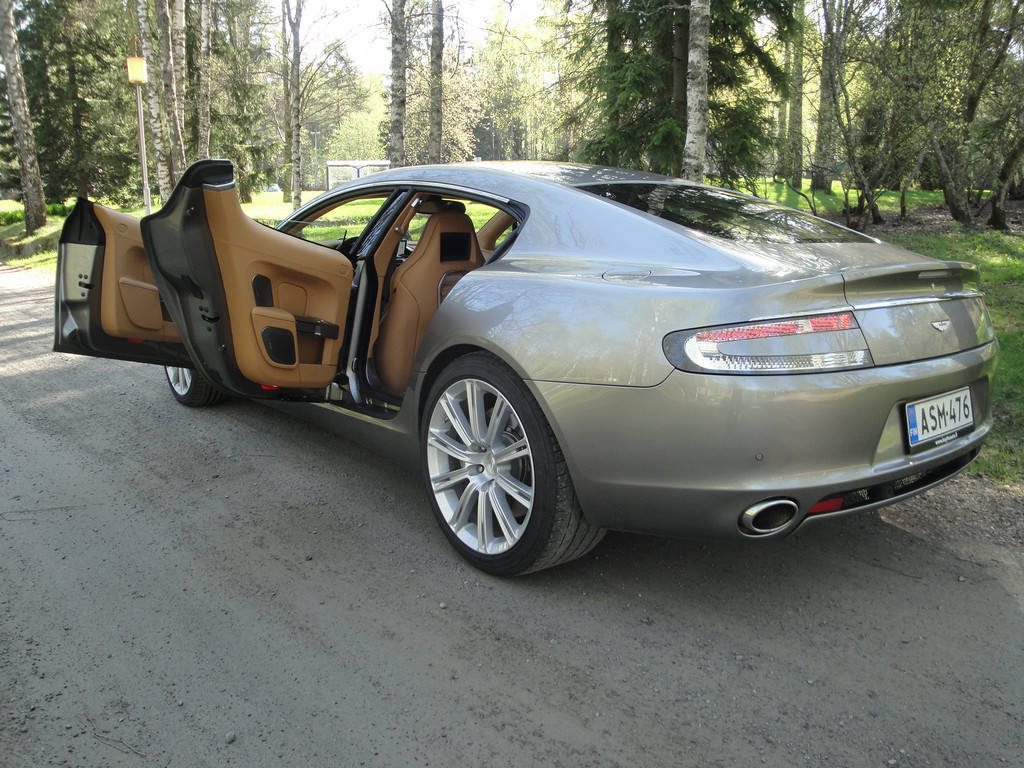 Aston Martin RAPIDE V12 TOUCHTRONIC ASM-476 20