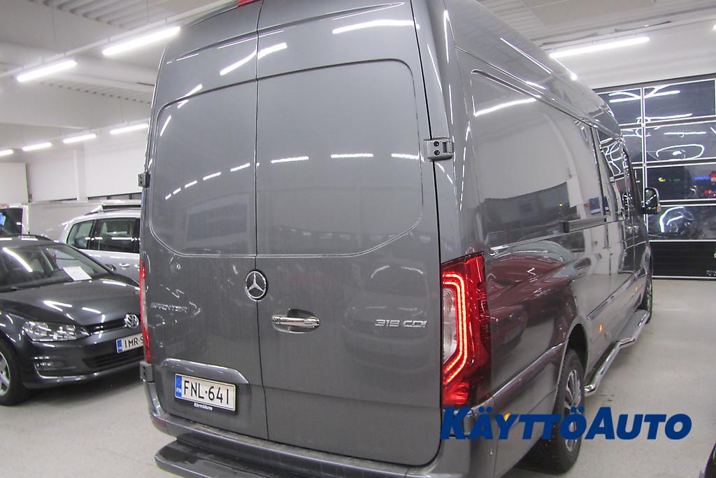 Mercedes-Benz SPRINTER 319 CDI AUTOM. JATKO-OHJAAMO. 2+4 HLÖ FNL-641 4
